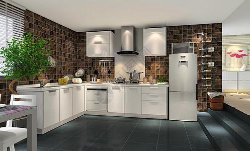 现代风格厨房效果图图片
