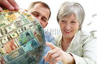 全球养老保险理财投资图片
