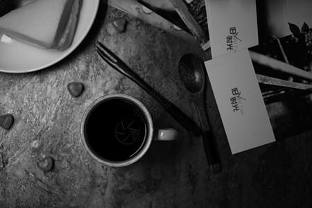 回忆里的下午茶咖啡甜点旧时光图片