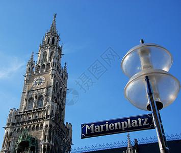 慕尼黑玛利亚广场新市政厅图片