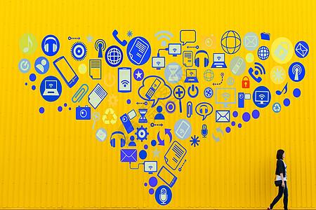 商务图标科技图片