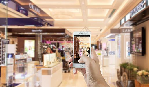手机里的商场图片