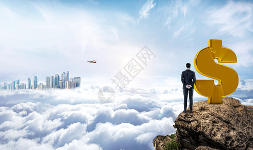 商务金融城市背景图片