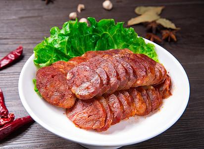 川香腊肠图片