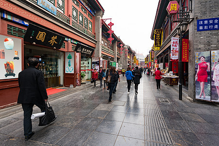 古文化街景色图片