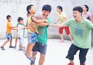 玩游戏的学生图片
