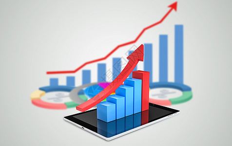 3D小人教你识别股市趋势图图片