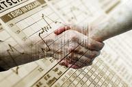 商务握手合作数据图图片