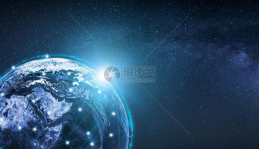 地球科技背景图片