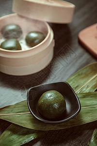 清明团 青团 绿色食品 粗粮图片