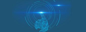 蓝色地图科技背景图片