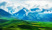 卓尔山云雾图片