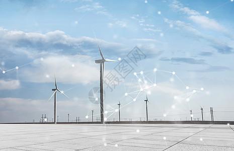 新能源风能发电图片