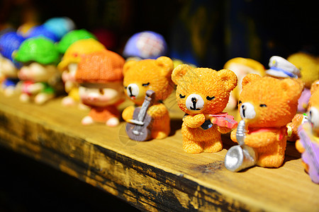 儿童节可爱玩具熊摆件图片