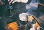 手冲咖啡特写拍摄图片