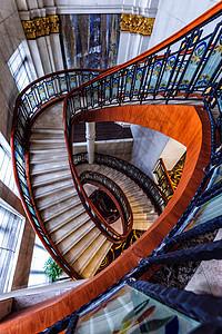 旋转楼梯 城市之眼图片
