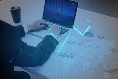 商业折线图图片