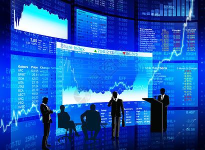 股市大背景下的热议图片