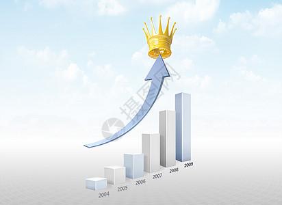 收益增长 收益冠军 商务市场 图片
