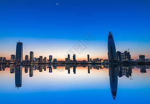 深圳后海城市天际线图片