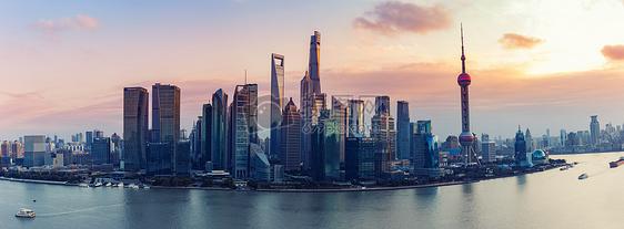 上海都市全景风光建筑摄影图片