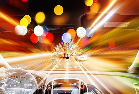 时光隧道的车图片