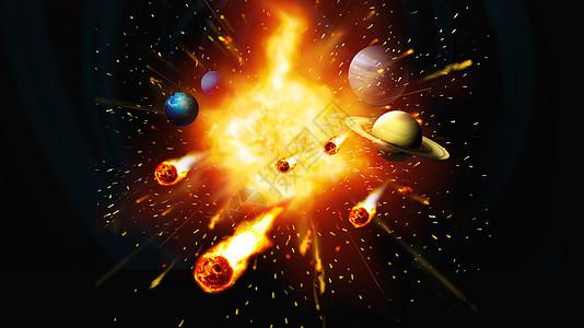 星河爆炸图片