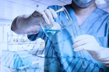 疫情与医疗科技医生药品图片