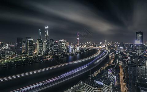 上海外滩光影图片
