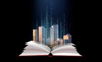 书上的城市图片