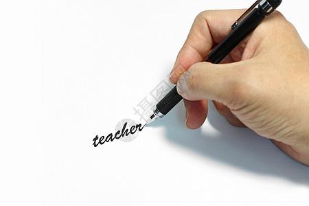 手拿钢笔写字图片素材 免费下载 jpg图片格式 VRF高清图片500344641