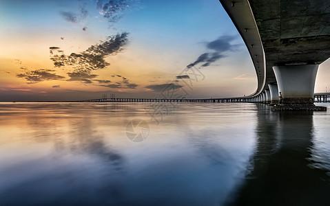 大桥之美图片