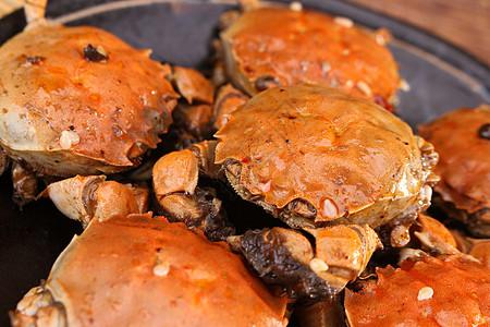 麻辣蟹图片