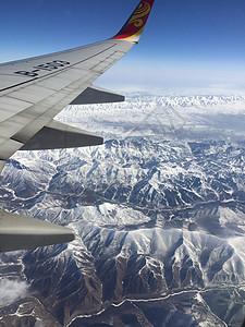 俯瞰雪域高原图片