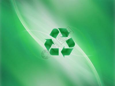 循环利用绿色背景图片