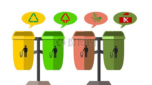 垃圾分类指示图片