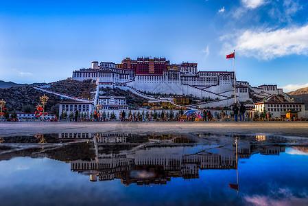 美丽的布达拉宫图片