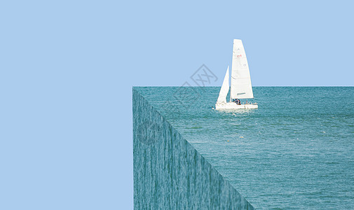 海上航行的船在盗梦空间中图片