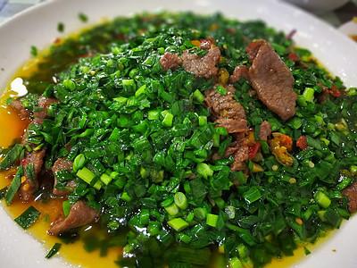 韭菜炒肉图片