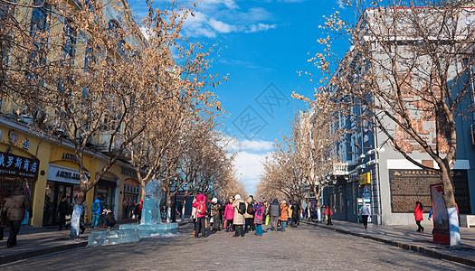 哈尔滨中央大街图片