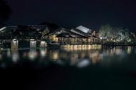 乌镇夜色图片