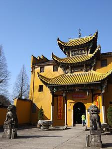 安徽九华山祇园禅寺图片