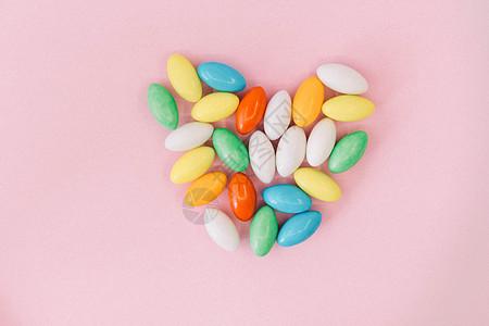 多彩巧克力豆图片