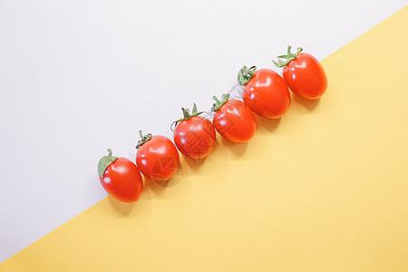 多彩小番茄图片