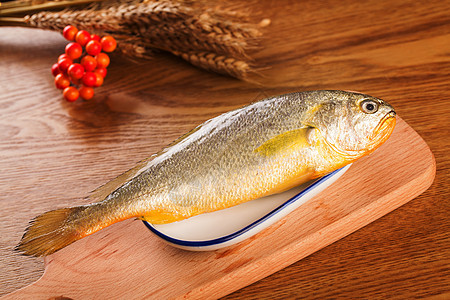 新鲜的鱼 食材图片