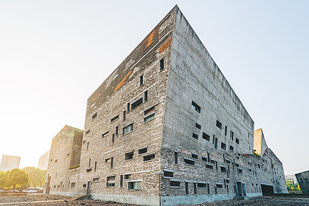 宁波博物馆外景图片