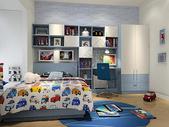 小清新儿童卧室效果图图片