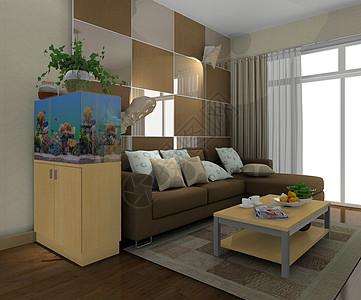 现代韩式沙发背景墙图片