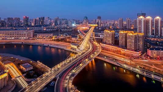 远眺赤峰桥图片