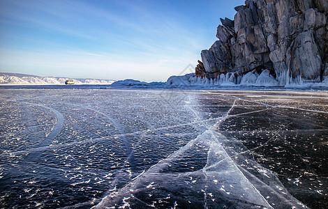 壮观的冰封世界 创业者冲破资本寒冬图片